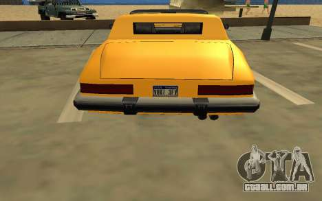 GTA V to SA: Realistic Effects v2.0 para GTA San Andreas nono tela