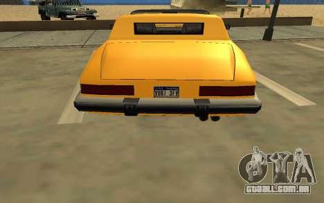 GTA V to SA: Realistic Effects v2.0 para GTA San Andreas nono tela