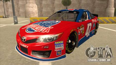 Toyota Camry NASCAR No. 47 House-Autry para GTA San Andreas