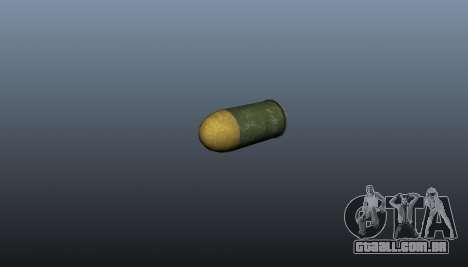 O lançador de granadas XM-25 para GTA 4 por diante tela