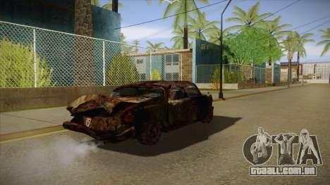 New Glenshit para GTA San Andreas vista direita