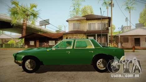 Fasthammer para GTA San Andreas esquerda vista
