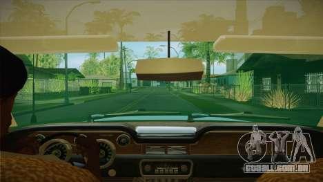 Fasthammer para GTA San Andreas vista interior