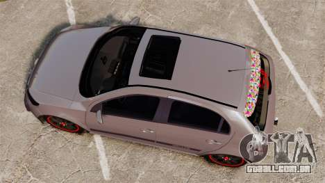 Volkswagen Gol Rally 2012 Socado Turbo para GTA 4 vista direita