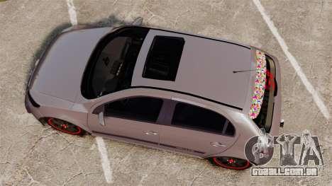 Volkswagen Gol Rally 2012 Socado Turbo para GTA 4 vista direita
