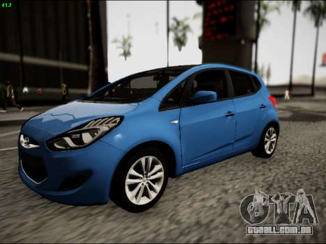 Hyundai ix20 para GTA San Andreas esquerda vista