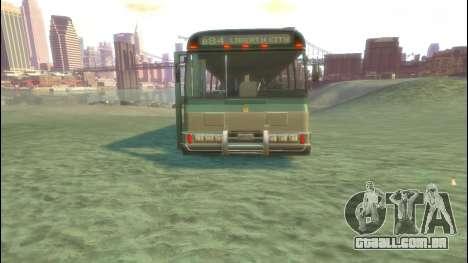 Ônibus de GTA 5 para GTA 4 vista de volta