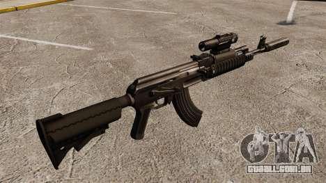 AK-47 (tático) para GTA 4 segundo screenshot