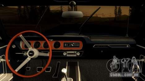 Pontiac Tempest LeMans GTO Hardtop Coupe 1965 para GTA San Andreas vista direita