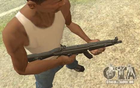HK MP5 para GTA San Andreas segunda tela