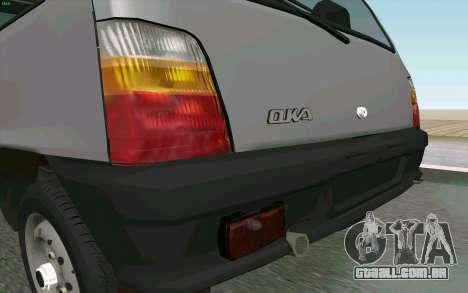 Kamaz Oka para GTA San Andreas vista traseira
