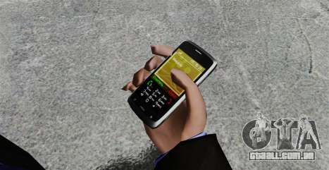 Comunicador ZTE Blade para GTA 4 segundo screenshot