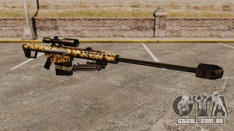 O Barrett M82 sniper rifle v10 para GTA 4