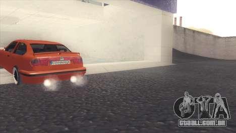 Seat Cordoba SX para GTA San Andreas vista direita