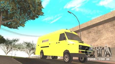 Iveco Daily 35 I minibus 1978 para GTA San Andreas vista direita