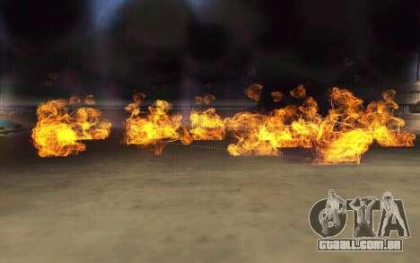 GTA V to SA: Realistic Effects v2.0 para GTA San Andreas terceira tela