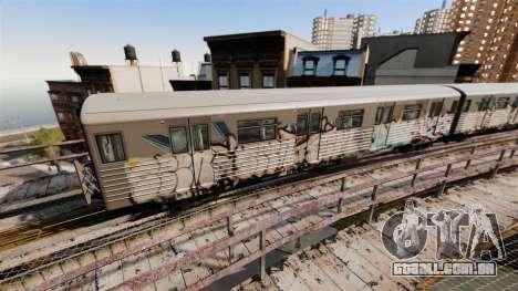 Novo graffiti metrô para v3 para GTA 4 segundo screenshot