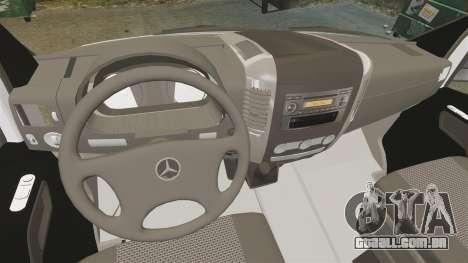 Mercedes-Benz Sprinter Zagreb Ambulance [ELS] para GTA 4 vista de volta
