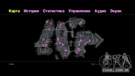 Texto arco-íris para GTA 4