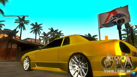 New Elegy para GTA San Andreas vista traseira