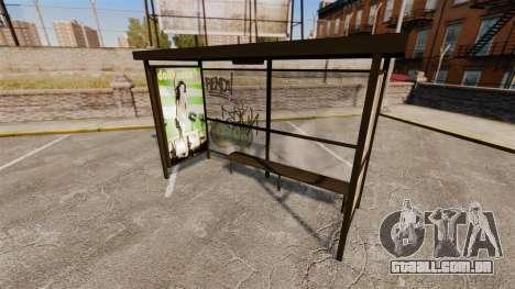 Real publicidade nas paragens de autocarro para GTA 4 por diante tela