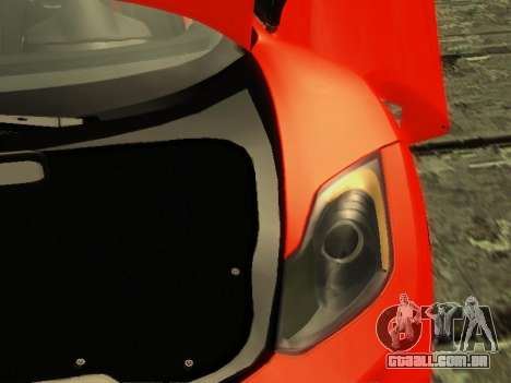 McLaren MP4-12C WheelsAndMore para GTA San Andreas interior