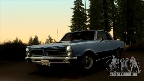 Pontiac Tempest LeMans GTO Hardtop Coupe 1965 para GTA San Andreas