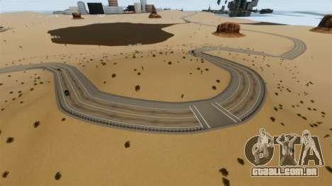 Destino cidade deserta para GTA 4 quinto tela