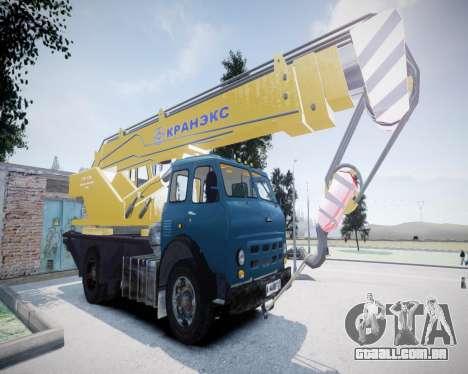 MAZ 500 KS3577-4-4 KRANEKS para GTA 4
