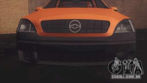 Chevrolet Montana Combo para GTA San Andreas esquerda vista