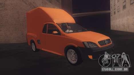 Chevrolet Montana Combo para GTA San Andreas vista direita