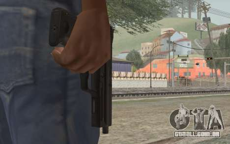 USP45 sem silenciador para GTA San Andreas terceira tela