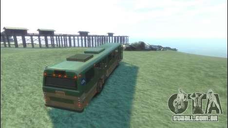Ônibus de GTA 5 para GTA 4 vista direita