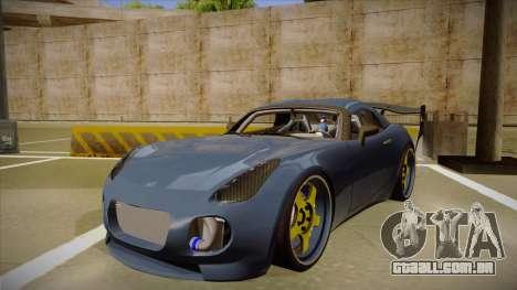 Pontiac Solstice Rhys Millen para GTA San Andreas