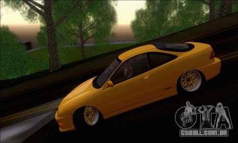 Honda Integra Type-R Hellaflush para GTA San Andreas vista traseira