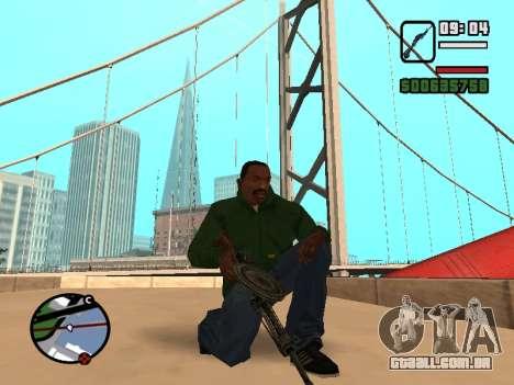 SDO para GTA San Andreas segunda tela