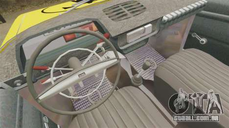 IZH-moskvitch 412 para GTA 4 vista de volta