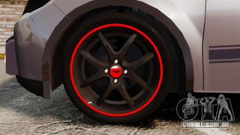 Volkswagen Gol Rally 2012 Socado Turbo para GTA 4 vista de volta