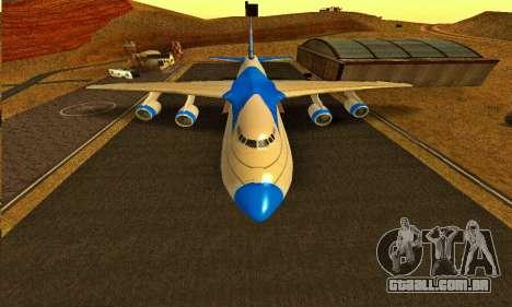 Andromada GTA V para GTA San Andreas vista direita