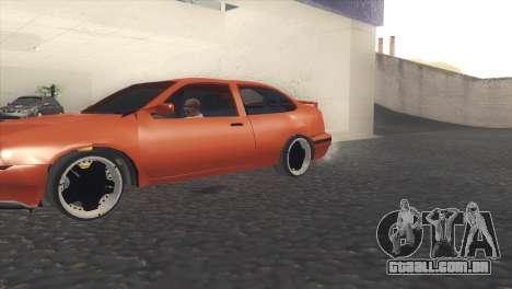 Seat Cordoba SX para GTA San Andreas esquerda vista