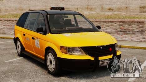 Táxi melhorada para GTA 4