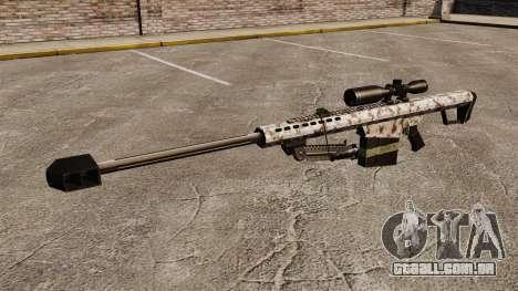 O Barrett M82 sniper rifle v5 para GTA 4 terceira tela