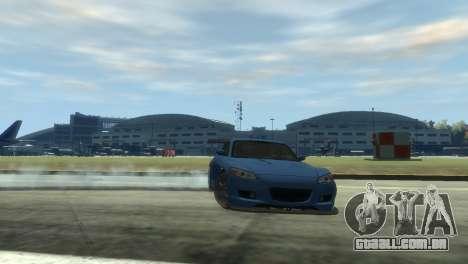 Mazda RX-8 R3 para GTA 4 vista de volta