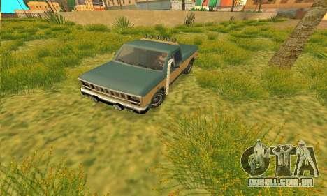 Bobcat armadura Off-Road para GTA San Andreas esquerda vista