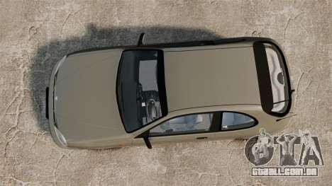 Daewoo Lanos 1997 PL para GTA 4 vista direita