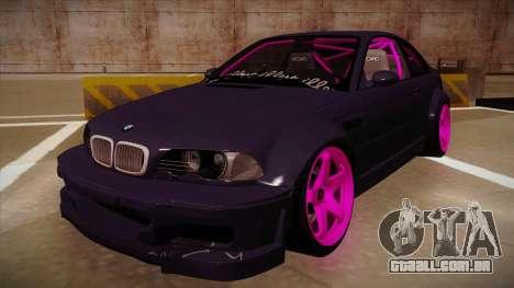 BMW M3 Drift para GTA San Andreas