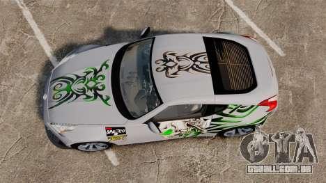 Nissan 370Z para GTA 4 vista direita