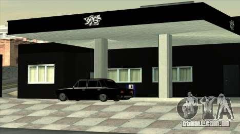 A garagem em Doherty BPAN para GTA San Andreas