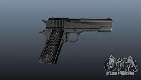 Pistola M1911 v3 para GTA 4 terceira tela