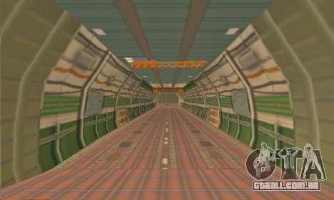 Andromada GTA V para vista lateral GTA San Andreas